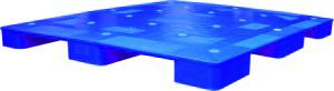 Pallet nhựa một mặt 9 chân Pl02LS 1200x1000x78mm kê hàng 3 tấn tại hồ chí minh