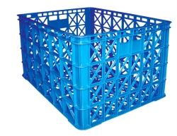 Thùng nhựa HS022 850x630x525mm đan lưới có 8 bánh xe tại hồ chí minh