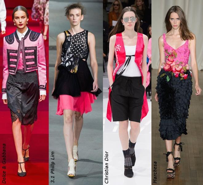 Phối màu cho trang phục theo phong cách nổi bật