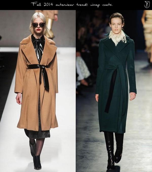 Áo khoác quấn thời trang giúp khoe được vòng eo
