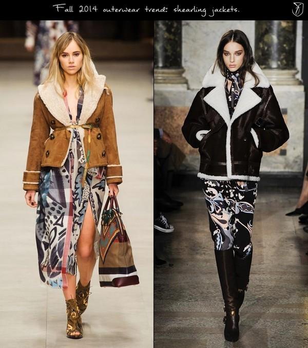 Áo khoác viền lông cừu vừa ấm áp, vừa thời trang
