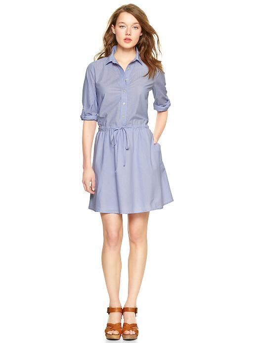 Cô nàng công sở muốn mảnh mai hơn đó chính là shirt dress