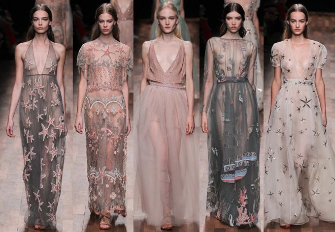Sự cuốn hút đầy tinh tế và bay bổng mà Valentino mang đến tuần lễ thời trang Paris