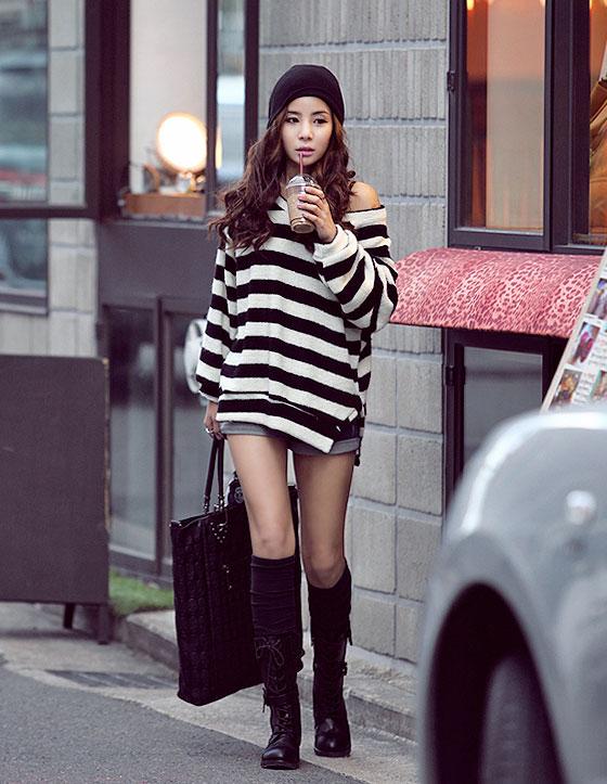 Áo len ấm áp nhưng không kém phần quyến rũ