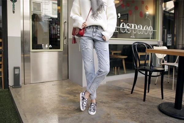 Những kiểu quần jeans phá cách