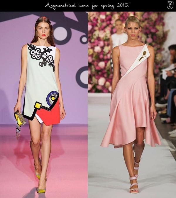 Phong cách vát vạt chéo ngọt ngào với tone màu pastel