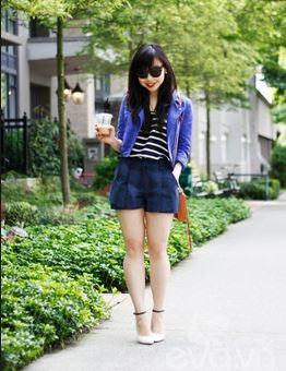 Quần áo giá sỉ thời trang dành cho chân ngắn