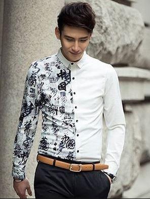 Quần áo nam giá sỉ TPHCM hoa văn thời trang