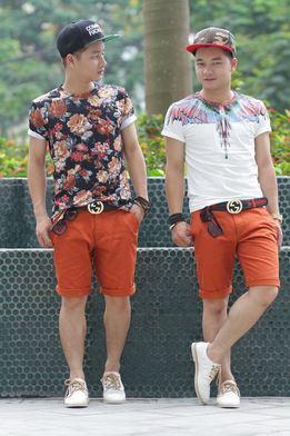 Quần áo nam giá sỉ TPHCM thời trang mùa hè sôi động