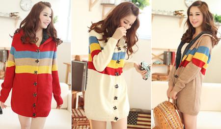 Áo len nữ đẹp cho ngày đông thêm ấm áp