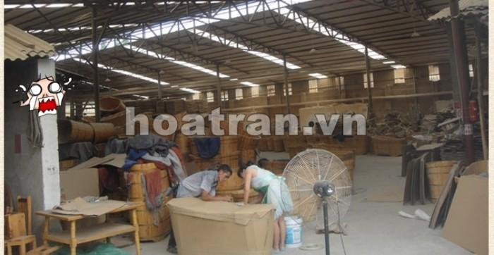 Xưởng sản xuất chậu gỗ ngâm chân
