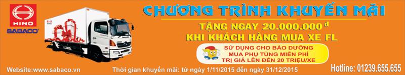 Khuyen mai Thang 11 Hino