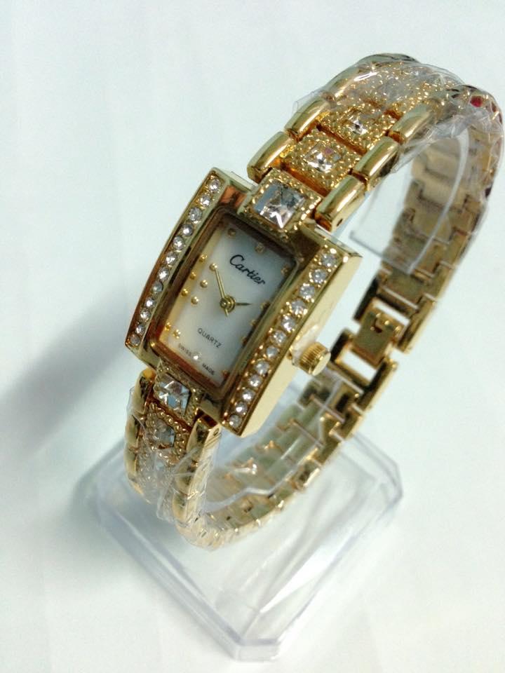 đồng hồ lắc tay nữ cartier CRV-042-2