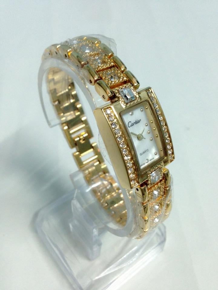 đồng hồ lắc tay nữ cartier CRV-042-3