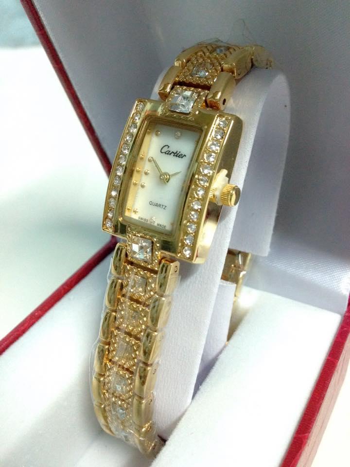 đồng hồ lắc tay nữ cartier CRV-042-5