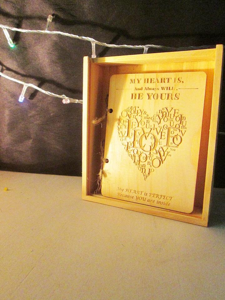 thiệp valentine độc đáo, thiệp valentine handmade