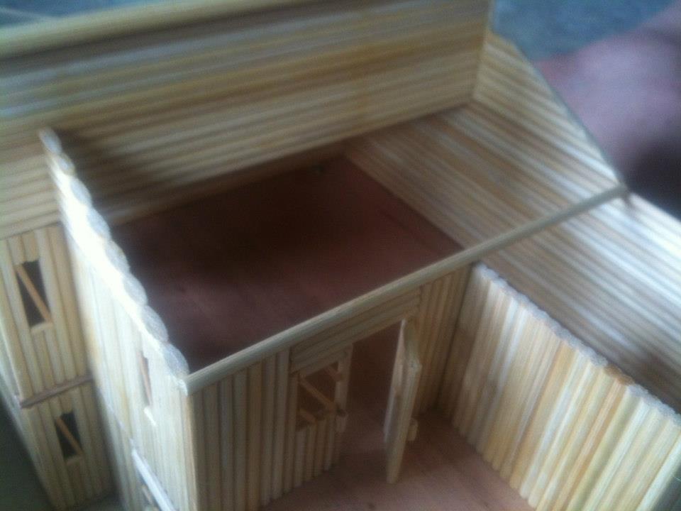 cách làm nhà tăm tre, cách làm nhà tăm tre đẹp đơn giản