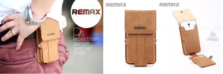 Bao da đeo lưng, đeo nịt cao cấp REMAX