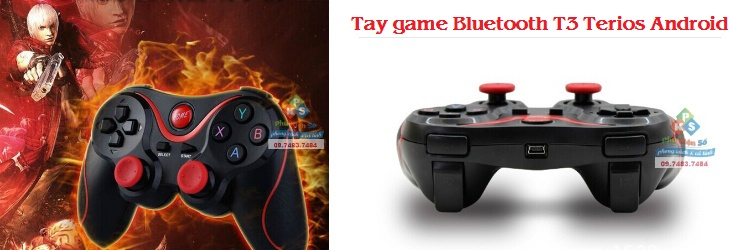 Tay game bluetooth T3 Terios Android
