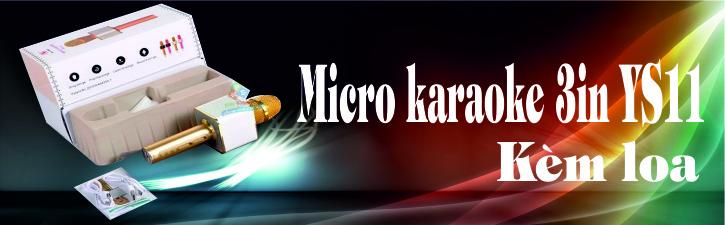 Micro Karaoke YS11 cho điện thoại cực hay