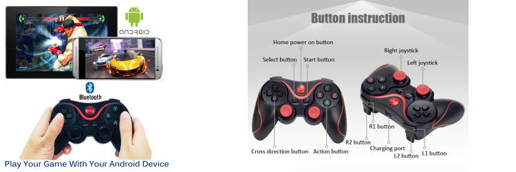 Tay game Bluetooth T3 Terios chính hãng