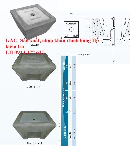 Hố kiểm tra tiếp địa -GAC