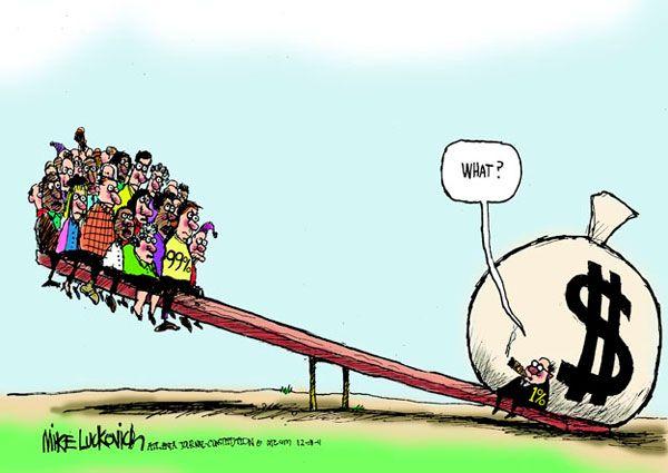 người giàu và kẻ nghèo