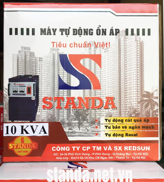 on ap standa 10kva chinh hang