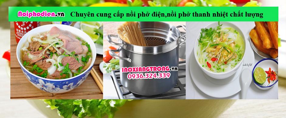 Inoxsangtrong.vn - Chuyên sản xuất nồi nấu phở điện