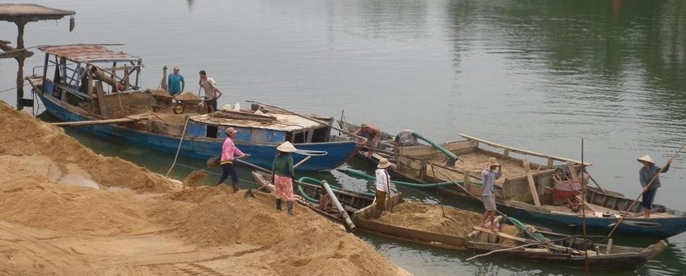 Chuyên cung cấp cát xây dựng giá rẻ tai TPHCM