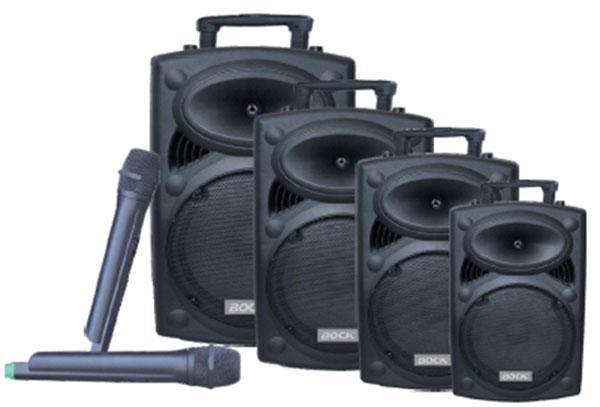 Loa vali kéo di động Bock 2315 - loa hát karaoke du lịch hay