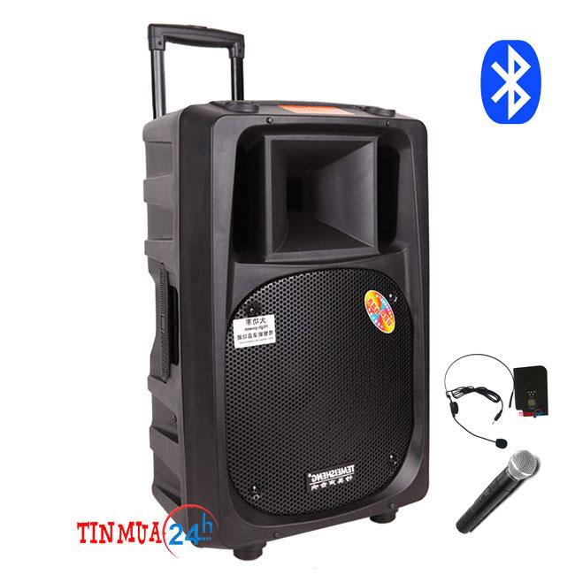 Loa vali kéo Temeisheng SL16 công suất lớn – kết nối Bluetooth