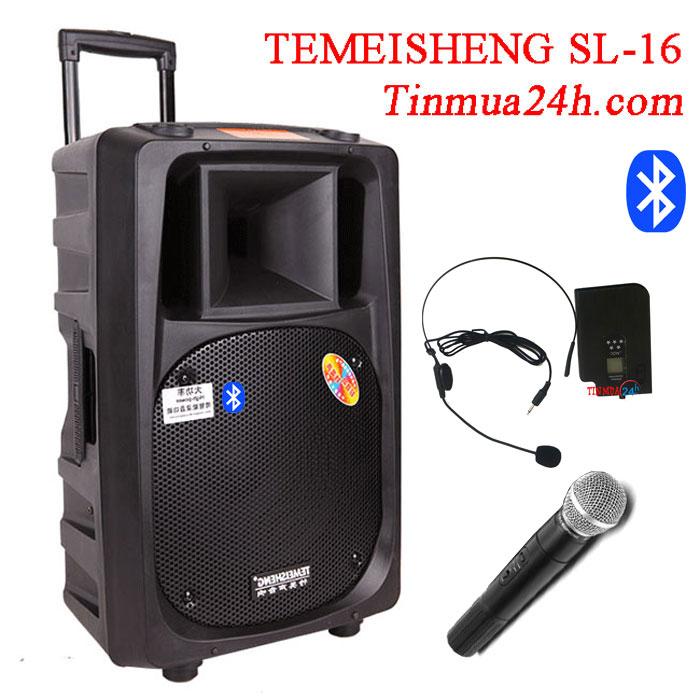 Loa Vali Kéo Temeisheng SL-16 Bluetooth