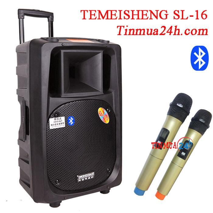 Loa kéo di động Temeisheng SL 16 bluetooth - loa di động công suất lớn
