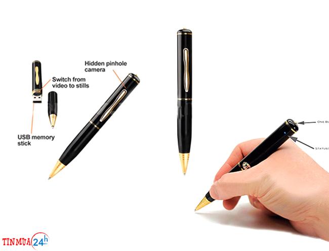 Bút Bi Camera Siêu Nhỏ