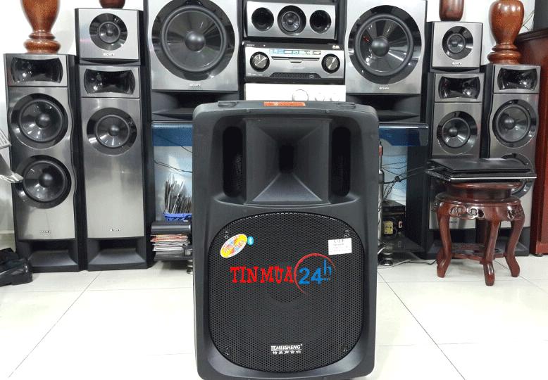 Loa vali kéo TemeiSheng công suất lớn DP 2398 ( màu đen) - 3