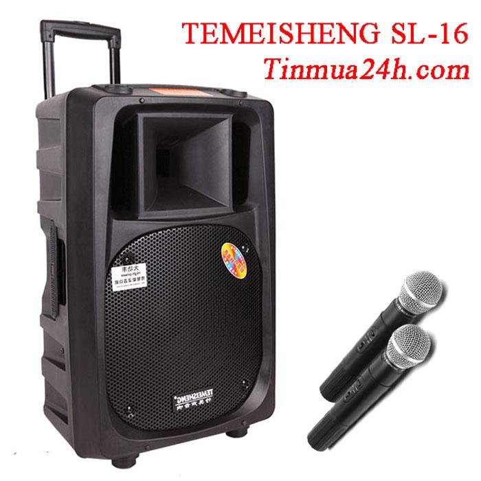 Loa Vali Kéo Temeisheng SL-16 Công Suất Lớn