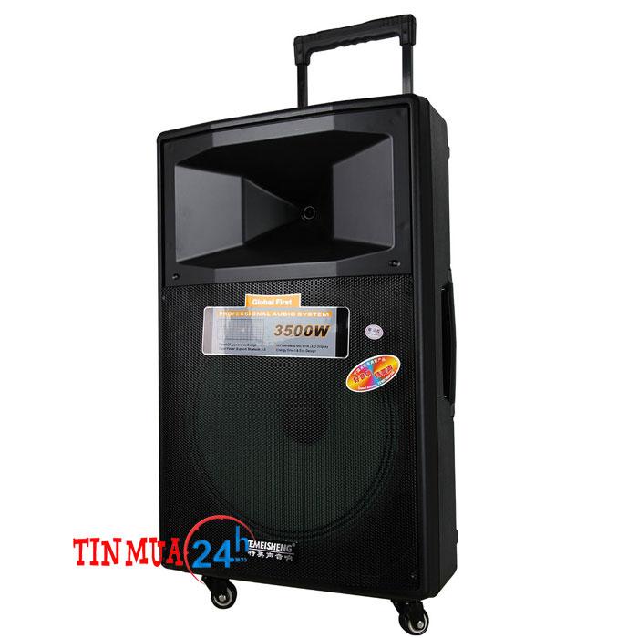 Loa vali kéo di động SL 15-04 – loa di động hát karaoke
