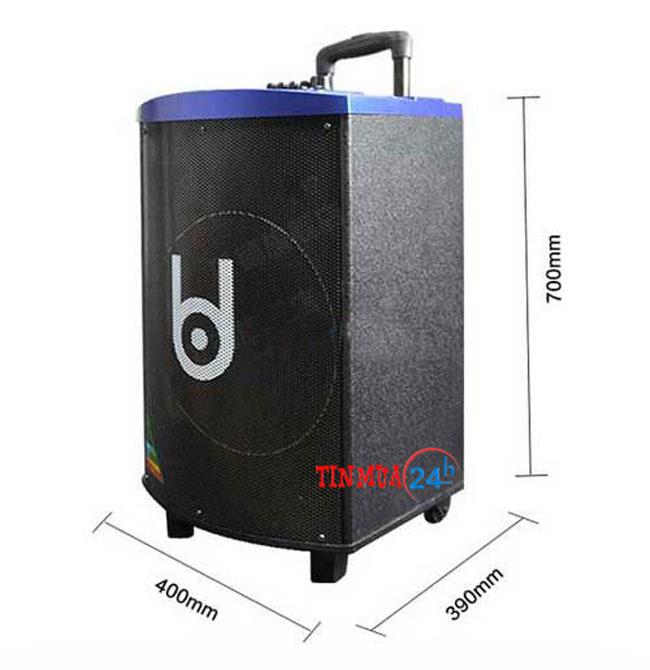 Loa vali kéo Best H127 Bluetooth – loa kéo di động chính hãng