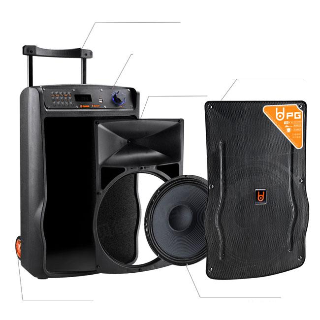Loa vali kéo di động Best H158 chính hãng