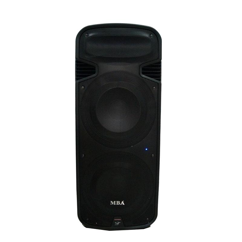 Loa vali kéo di động MBA PA 215 - Loa di động hát karaoke công suất lớn