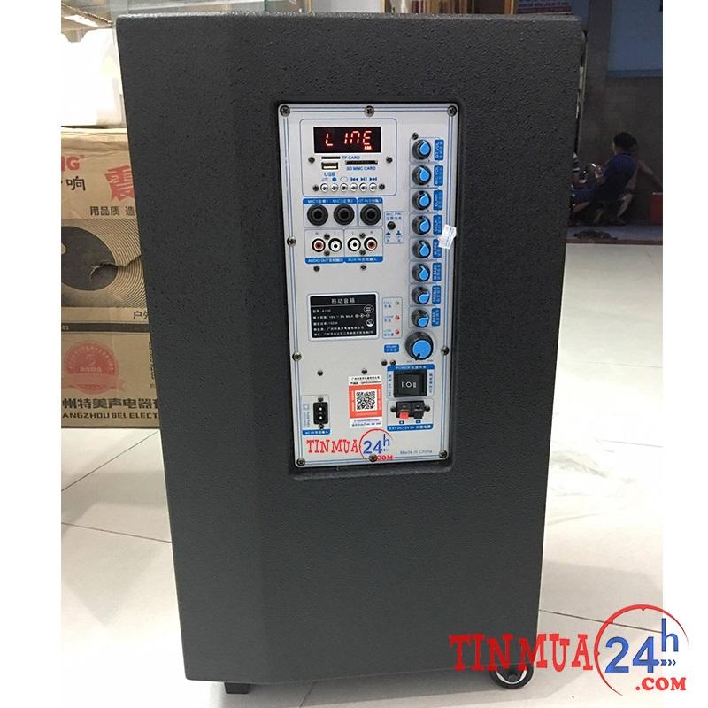 Loa vali kéo Temeisheng GD 12-01 công suất lớn