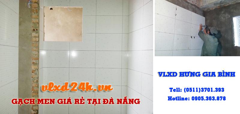 Thi công ốp gạch men giá rẻ tại Đà Nẵng