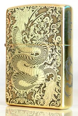 Zippo Dragon hoa văn
