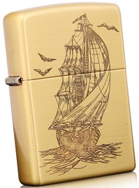 zippo thuyền thuận buồm