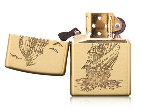 zippo thuyền thuận buồm 2