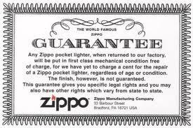 zippo zin