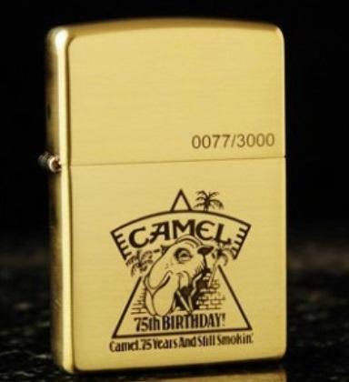 Zippo CAMEL 75th BIRHDAY giới hạn 3000 con