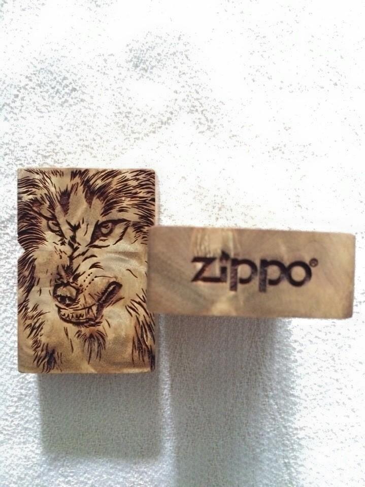 zippo sói