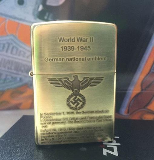 bật lửa zippo chiến tranh thế giới thứ 2